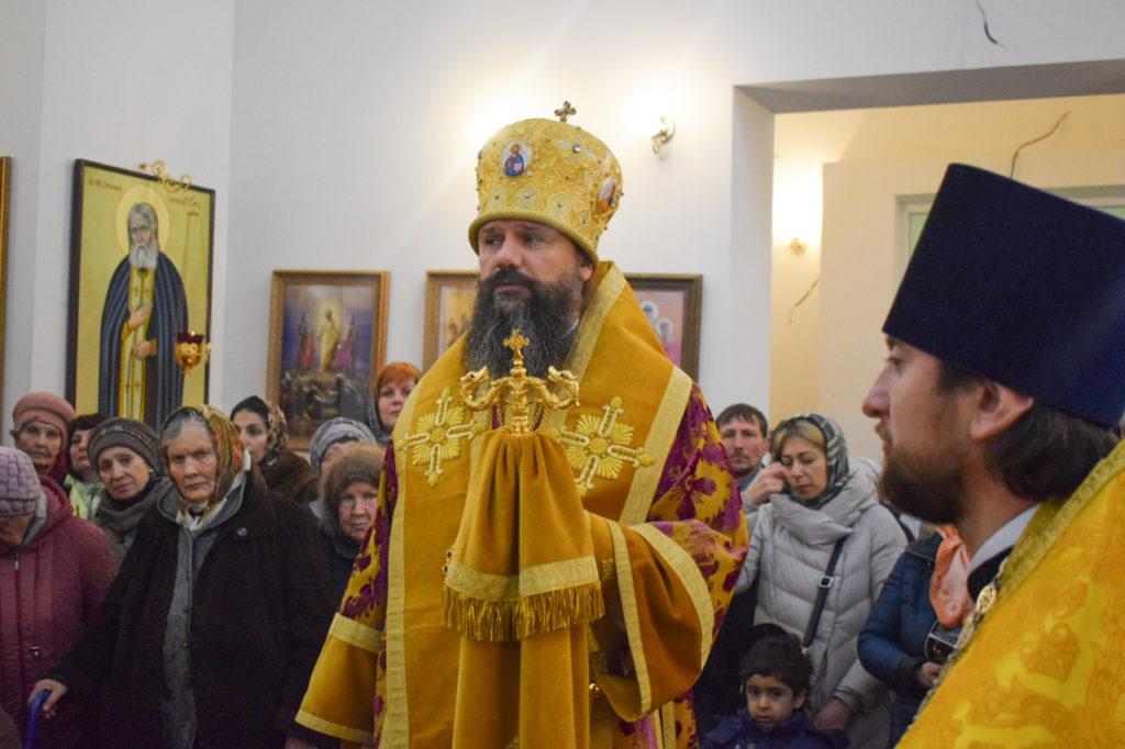 епископ Игнатий храм Спиридона Тримифунтского