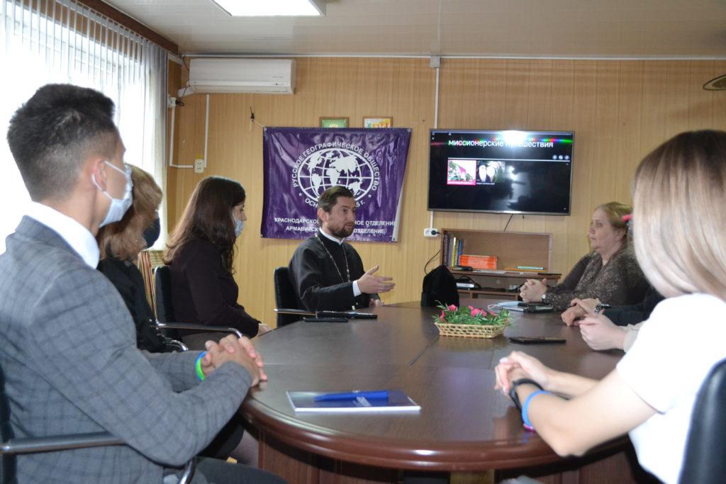 Встреча Отца Андрея Солопа со студентами АЮТ
