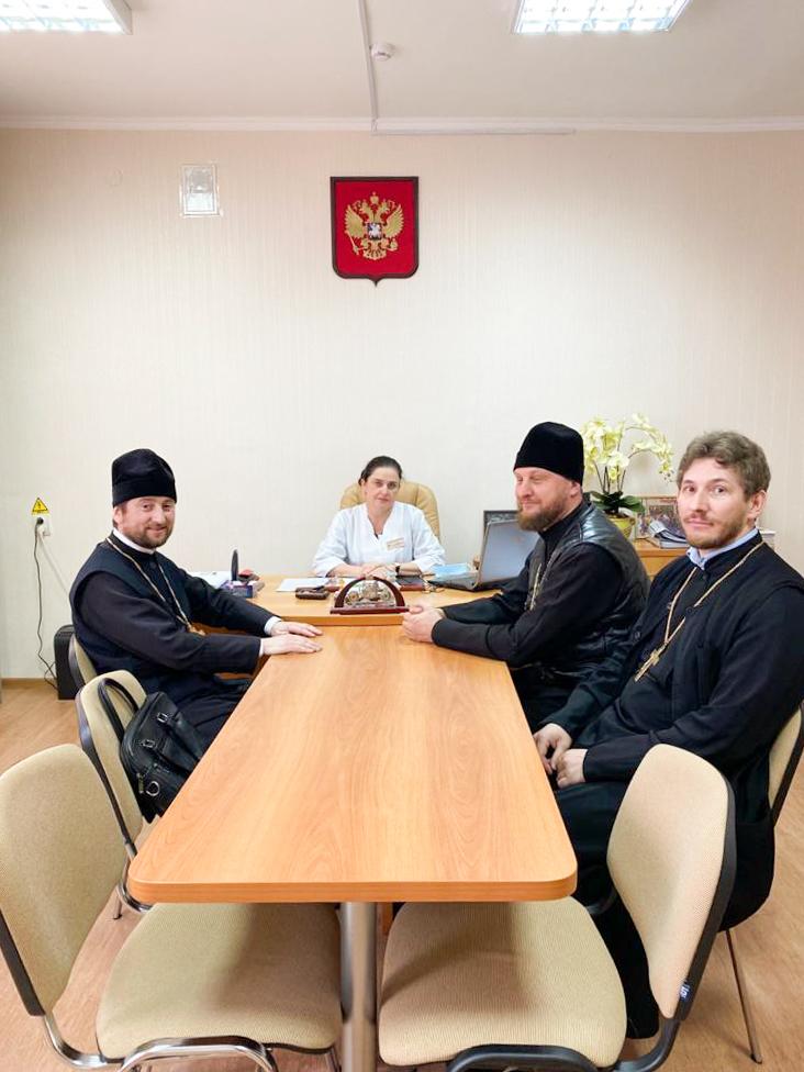 Встреча в Курганинской Центральной Районной больнице