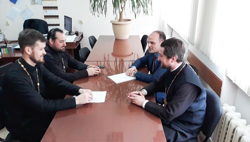 Встреча в Успенской Центральной Районной Больнице