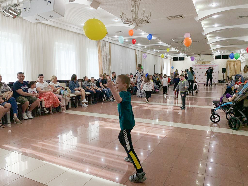 Центр помощи детям-инвалидам «Ты не один»